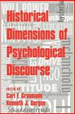 Historical Dimensions of Psychological Discourse, , 0521034760