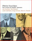 Effective Visual Basic : How to Improve Your Vb COM+ Applications, Hummel, Joe and Masterman, Jason, 0201704765