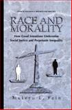 Race and Morality : How Good Intentions Undermine Social Justice and Perpetuate Inequality, Fein, Melvyn L., 1461354765