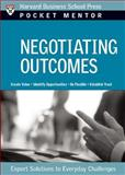 Negotiating Outcomes, Marjorie Corman Aaron, 1422114767