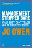 Management Stripped Bare, Jo Owen, 0749464763