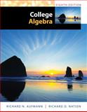 College Algebra, Aufmann, Richard N. and Nation, Richard D., 1285434773