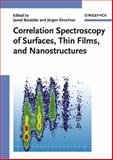 Correlation Spectroscopy of Surfaces, Thin Films, and Nanostructures, , 3527404775