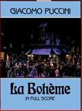 La Boheme in Full Score, Giacomo Puccini, Opera and Choral Scores, 0486254771