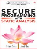 Secure Programming with Static Analysis, Chess, Brian and West, Jacob, 0321424778