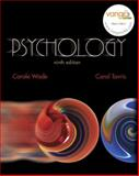 MyPsychLab : Psychology, 9/e, Student Access Code Kit, Wade, Carole and Tavris, Carol, 0132324776