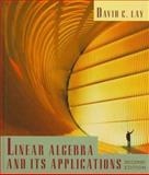 Linear Algebra and Its Applications, Lay, David C., 0201824787