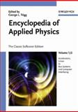 Encyclopedia of Applied Physics, , 3527404783