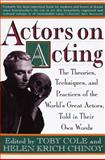 Actors on Acting 4th Edition