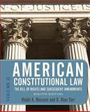 American Constitutional Law : The Bill of Rights and Subsequent Amendments, Rossum, Ralph A. and Tarr, G. Alan, 0813344786