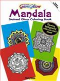 Mandalas GemGlow Stained Glass Coloring Book, Marty Noble, 048647478X