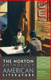 The Norton Anthology of American Literature, Baym, Nina and Franklin, Wayne, 0393934799