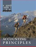 Accounting Principles, Weygandt, Jerry J. and Trenholm, Barbara, 0470534796