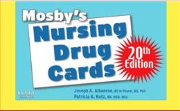 Mosby's Nursing Drug Cards, Albanese, Joseph A. and Nutz, Patricia A., 0323064795