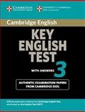 Cambridge Key English Test 3 with Answers, Cambridge Esol, 0521754798