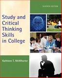 Study and Critical Thinking Skills in College, McWhorter, Kathleen T., 0205734804