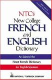 NTC's New College French and English Dictionary (Thumb Index) 9780844214801