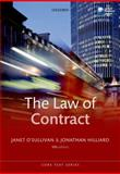 The Law of Contract, Hilliard, Jonathan and O'Sullivan, Janet, 0199644802