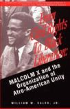 From Civil Rights to Black Liberation, William W. Sales, 0896084809