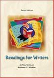 Readings for Writers, McCuen, Jo Ray, 0155074806