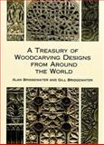A Treasury of Woodcarving Designs from Around the World, Alan Bridgewater and Gill Bridgewater, 0486404803