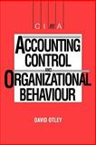 Accounting Control and Organizational Behaviour 9780434914807