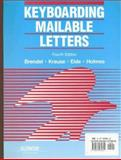 Keyboarding Mailable Letters, LeRoy A. Brendel and M. Andrea Holmes, 007007481X