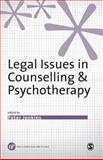Legal Issues in Counselling and Psychotherapy, , 0761954813