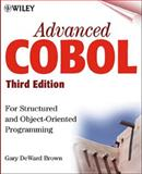 Advanced COBOL for Structured and Object-Oriented Programming, Brown, Gary DeWard, 0471314811