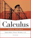 Calculus : Single Variable, Hughes-Hallett, Deborah and Flath, Daniel E., 0471484814