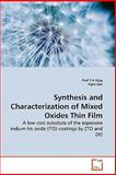 Synthesis and Characterization of ed Oxides Thin Film, Prof Y K Vijay and Prof Y. K. Vijay, 3639274814