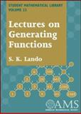 Lectures on Generating Functions, Lando, S. K., 0821834819