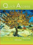 Quick Access Reference for Writers, Troyka, Lynn Q. and Hesse, Douglas, 0205664814