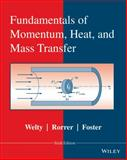 Fundamentals of Momentum, Heat and Mass Transfer, Welty, James and Wicks, Charles E., 0470504811