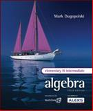 Elementary and Intermediate Algebra, Dugopolski, Mark, 0077224825
