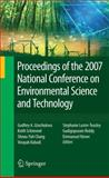 Proceedings of the 2007 National Conference on Environmental Science and Technology, , 0387884823