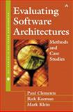 Evaluating Software Architectures : Methods and Case Studies, Clements, Paul and Kazman, Rick, 020170482X