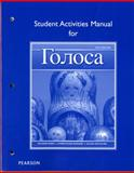 Student Activities Manual for Golosa 5th Edition