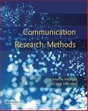 Communication Research Methods, Merrigan, Gerianne and Huston, Carole Logan, 0195314824