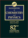 Handbook of Chemistry and Physics, Lide, David R., 0849304822