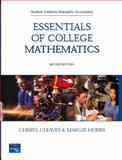 College Mathematics : Student Solutions Manual, Cleaves, Cheryl and Hobbs, Margie, 013171483X