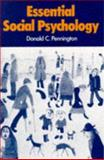 Essential Social Psychology, Pennington, Donald C., 0713164832