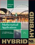Mathematical Applications for the Management, Life, and Social Sciences, Hybrid, Harshbarger, Ronald J. and Reynolds, James J., 1133364837