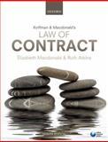 Koffman and Macdonald's Law of Contract, Macdonald, Elizabeth and Atkins, Ruth, 0199644837