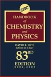 Handbook of Chemistry and Physics, Lide, David R., 0849304830