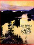 Finlandia and Other Tone Poems in Full Score, Jean Sibelius, 0486264831