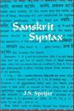 Sanskrit Syntax 9788120804838