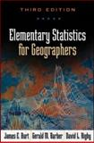 Elementary Statistics for Geographers, Third Edition, James E. Burt PhD, Gerald M. Barber PhD, David L. Rigby PhD, 1572304847