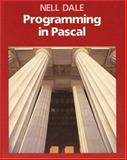Programming in Pascal, Dale, Nell, 0763704849