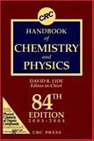 Handbook of Chemistry and Physics, , 0849304849